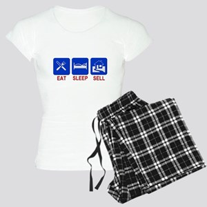 Eat. Sleep. Sell. Women's Light Pajamas