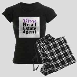 Diva Real estate Agent Women's Dark Pajamas