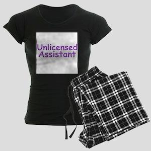 Unlicensed Assistant Women's Dark Pajamas