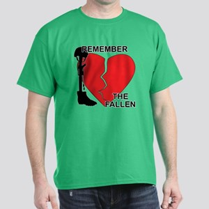 Remember The Fallen Dark T-Shirt