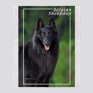 Belgian Sheepdog-1 Throw Blanket