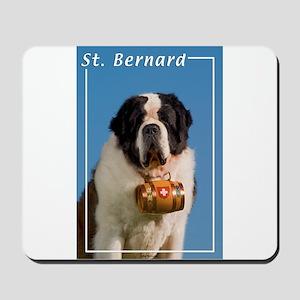 St Bernard-5 Mousepad