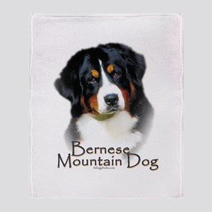 Bernese Mountain Dog Throw Blanket