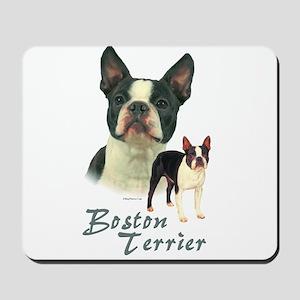 Boston Terrier-2 Mousepad