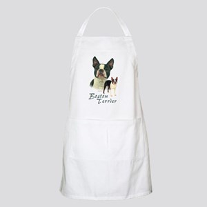 Boston Terrier-2 Apron