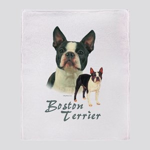 Boston Terrier-2 Throw Blanket
