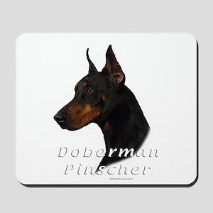 Doberman Pincher-2 Mousepad