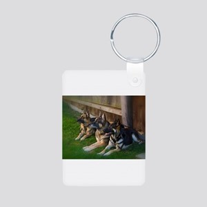 GSD-9 Aluminum Photo Keychain