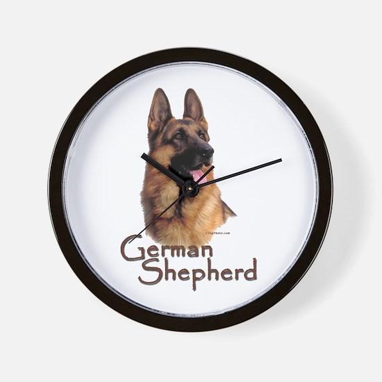 German Shepherd Dog-1 Wall Clock