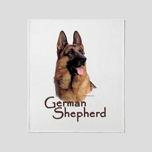 German Shepherd Dog-1 Throw Blanket