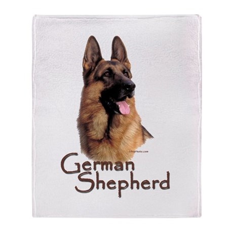 german shepherd blanket german shepherd dog 1 throw blanket by dogphotocom 7204