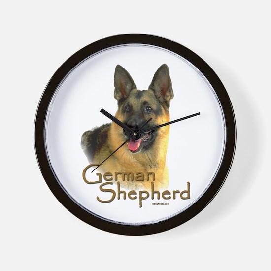 German Shepherd Dog-2 Wall Clock
