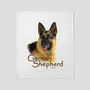 German Shepherd Dog-2 Throw Blanket