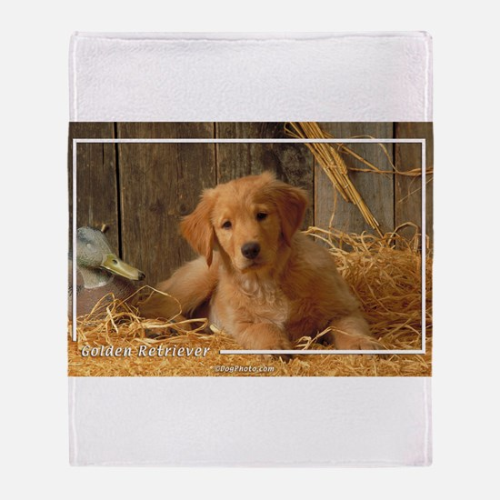 Golden Retriever-6 Throw Blanket