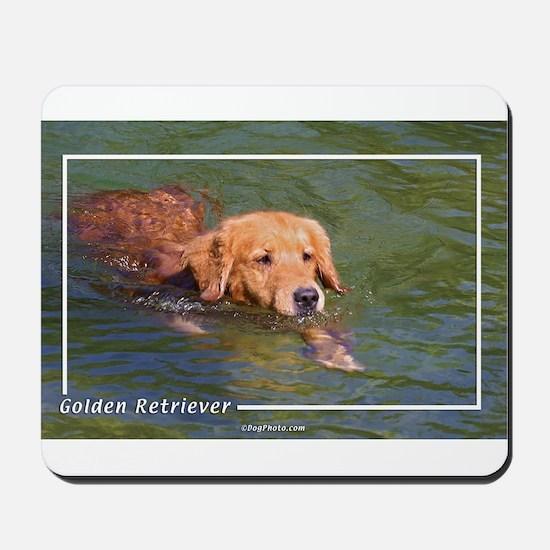 Golden Retriever-3 Mousepad