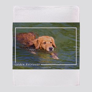 Golden Retriever-3 Throw Blanket