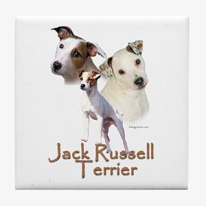 Jack Russell Terrier Tile Coaster