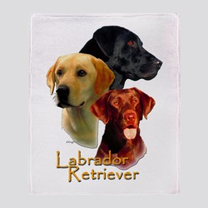 Labrador-7 Throw Blanket