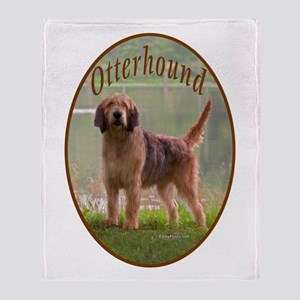 Otteround-1 Throw Blanket
