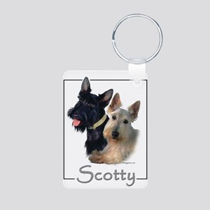 Scotty Aluminum Photo Keychain