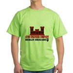 42nd Engineer Company Green T-Shirt