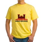 42nd Engineer Company Yellow T-Shirt