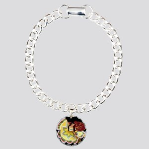 Mexican Quinceanera Charm Bracelet, One Charm