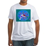 sandhill crane Fitted T-Shirt