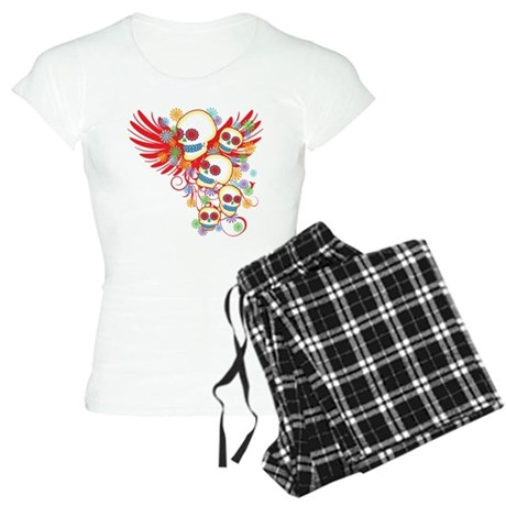 Day of the Dead Women's Light Pajamas