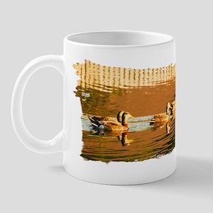 Ducks on a Pond Mug