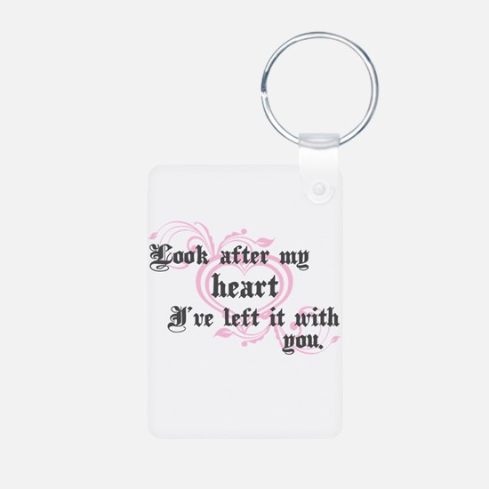 Edward Heart Twilight Keychains