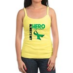 Ovarian Cancer Hero Teacher Jr. Spaghetti Tank