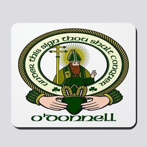 O Donnell Clan Motto Mousepad