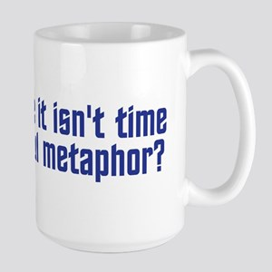 Colorful Metaphor Large Mug