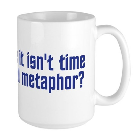 Colorful Metaphor Large Mug