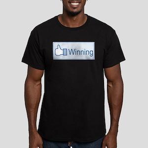 I Like Winning Men's Fitted T-Shirt (dark)