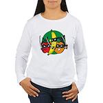 Fruits Fight Back Women's Long Sleeve T-Shirt