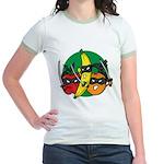 Fruits Fight Back Jr. Ringer T-Shirt
