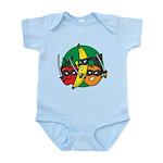 Fruits Fight Back Infant Bodysuit