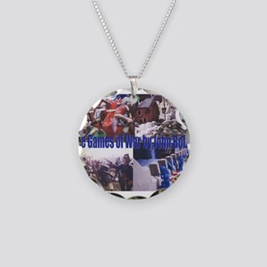 The Games of War 66 Necklace Circle Charm