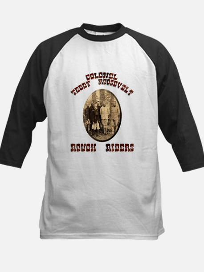 Col Teddy Roosevelt Kids Baseball Jersey