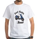 Just Gotta Scoot Zuma White T-Shirt