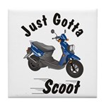 Just Gotta Scoot Zuma Tile Coaster