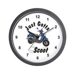 Just Gotta Scoot Zuma Wall Clock