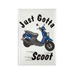 Just Gotta Scoot Zuma Rectangle Magnet (100 pack)