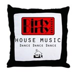 Dirty Dirty Records Throw Pillow