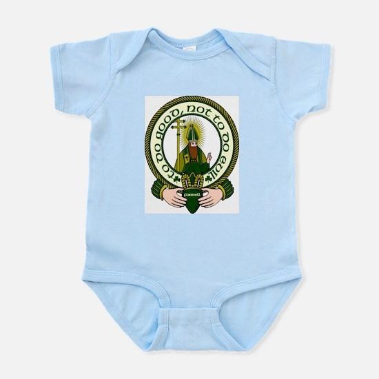 Farrell Clan Motto Infant Creeper