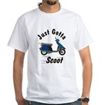 Just Gotta Scoot Elite White T-Shirt