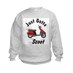 Just Gotta Scoot Elite Kids Sweatshirt