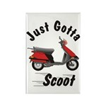 Just Gotta Scoot Elite Rectangle Magnet